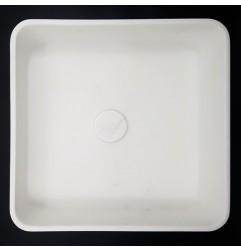 Calacatta Oro Honed Square Marble Basin 3015