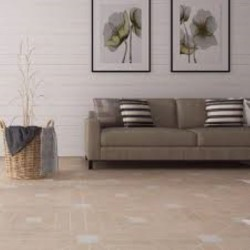 Neo Classic Polished Marble Porcelain Backed