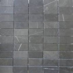 Pietra Grey Honed Limestone Mosaic