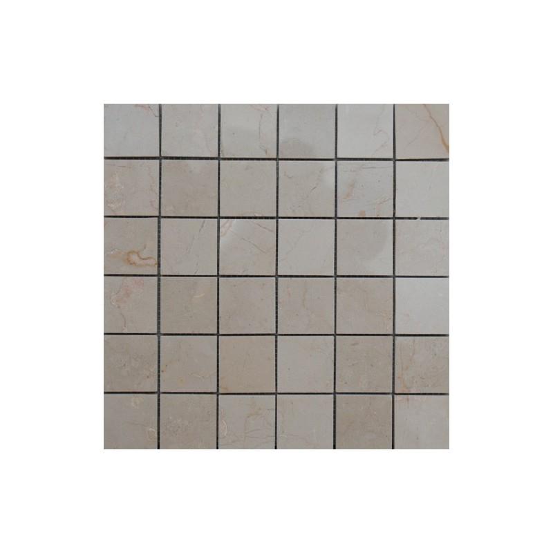 Royal Botticino Polished Marble Mosaic 50x50