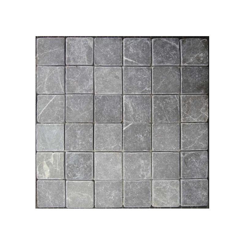 Pietra Grey Mosaics|Tumbled|Sheeted