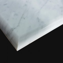 Carrara Honed Bullnose 40 mm Step Tread Marble