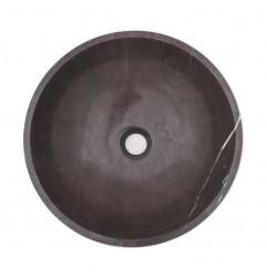 Pietra Grey Honed Round Basin Limestone 1709