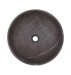 Pietra Grey Honed Round Basin Limestone 2140