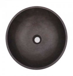 Pietra Grey Honed Round Basin Limestone 1922