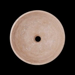 Classico Polished Round Basin Travertine 2047