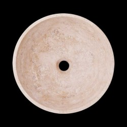 Classico Polished Round Basin Travertine 2093