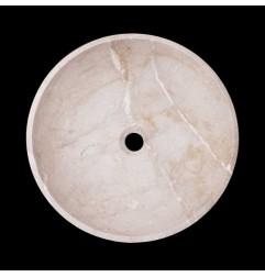 New Botticino Honed Round Basin Marble 2162