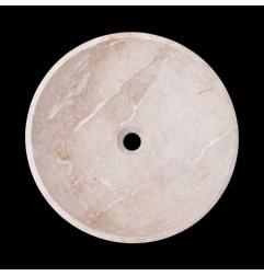 New Botticino Honed Round Basin Marble 2172