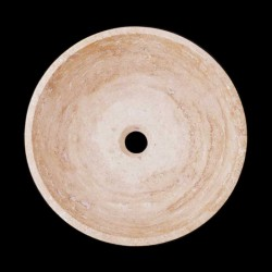 Classico Honed Round Basin Travertine 2098