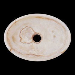 Onyx Honed Oval Basin 2100