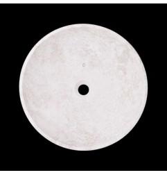 Bianca Perla Honed Round Basin Limestone 2110