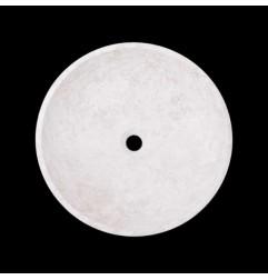 Bianca Perla Honed Round Basin Limestone 2112