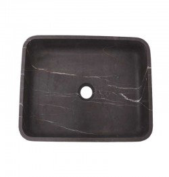 Pietra Grey Honed Rectangle Basin Limestone 2318