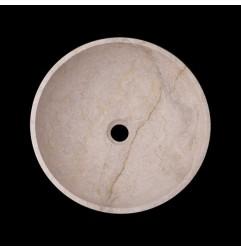 New Botticino Honed Round Basin Marble 2321