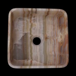 Onyx Honed Square Basin 2326