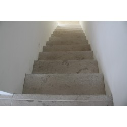 New Botticino Step Treads & Risers Marble - Honed