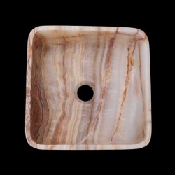 Onyx Honed Square Basin 2324