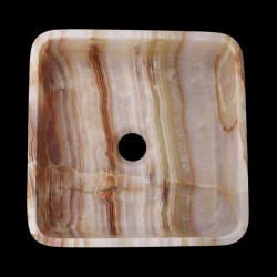 Onyx Honed Square Basin 2327