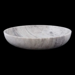 Persian White Honed Oval Basin Marble 2420