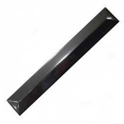 Black Gloss Prism Ceramic Tiles
