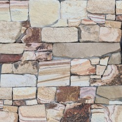 Gold Banded Rock Panel Interlocking Sandstone