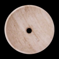 Classico Honed Round Basin Travertine 2050