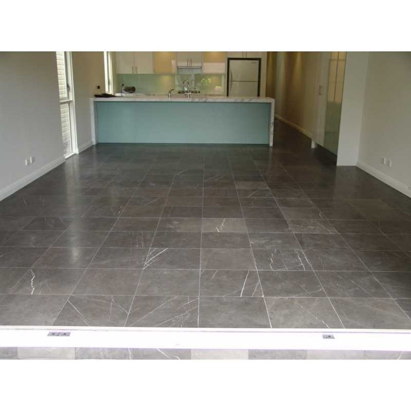 Pietra Grey Honed Limestone Tile