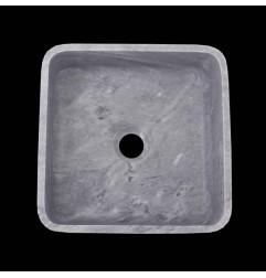 Crystal Grey Honed Square Basin Marble 2355