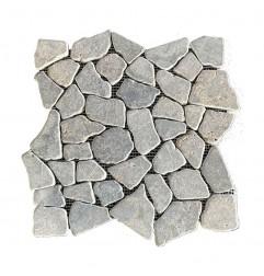 Antique Random Honed Marble Mosaic