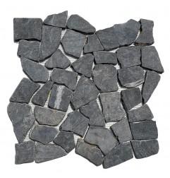 Ash Random Honed Marble Mosaic