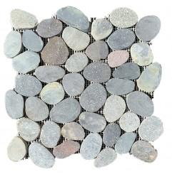Ratu Honed Sliced Pebble Squares