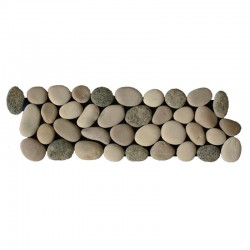 Mixed Natural Pebble Borders
