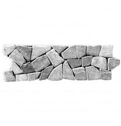 Ash Honed Random Marble Borders