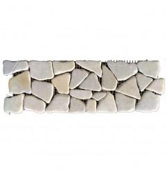 Ice Honed Random Marble Borders
