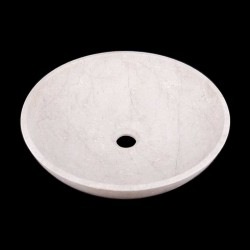 New Botticino Honed Round Basin Marble 2190