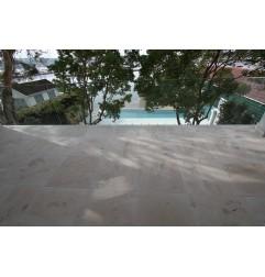 New Botticino Marble Sandblasted Tile