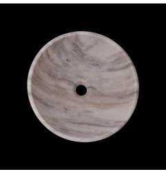 Calacatta Orient Honed Round Basin Marble 2773