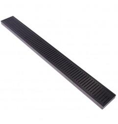 Lauxes Aluminium Midnight Floor Grate 100mm