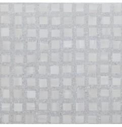 Bits & Pieces Steel Grain Quad Lev/Ret Italian Porcelain Tile 600x600