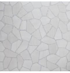 Bits & Pieces Steel Grain Facet Lev/Ret Italian Porcelain Tile 600x600