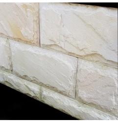 Himalayan White Rock Face Cladding Sandstone