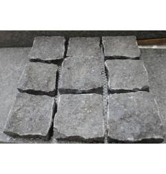Cobblestone Diamond Black Granite Sheeted