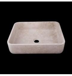 New Botticino Honed Rectangle Basin Marble 2358