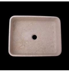 New Botticino Honed Rectangle Basin Marble 2359