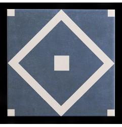 Diaz Paragon Teal Matt Porcelain Tiles 200x200