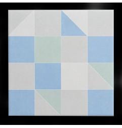 Diaz Geo Mix Matt Porcelain Tiles 200x200