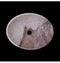 Calacatta Orient Honed Oval Basin Marble 2699