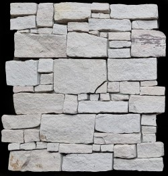 White Sandstone Rock Panel Interlocking