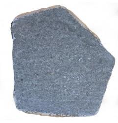 Black Flamed Granite Stepping Stone